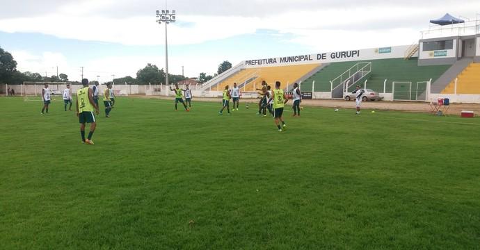 Gurupi entra em campo em partida amistosa nesta quinta-feira (23)  (Foto: Rogério Rodrigues/ ascom Gurupi)