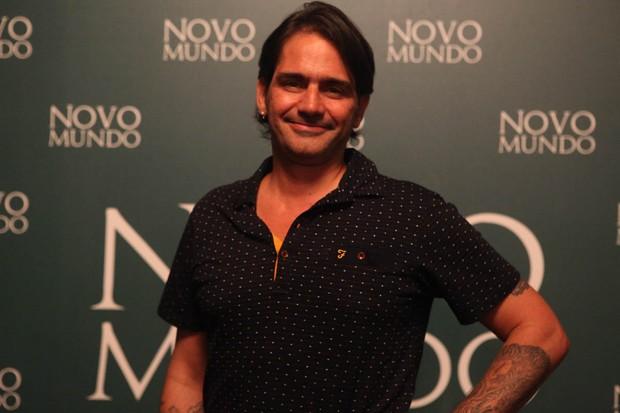 Diretor Vinícius Coimbra - Coletiva da novela Novo Mundo (Foto: Anderson Barros / Ego)