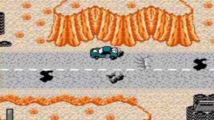 Mad Max tinha gráficos bons para sua época mas uma jogabilidade imprecisa e repetitiva (Foto: Reprodução/YouTube)