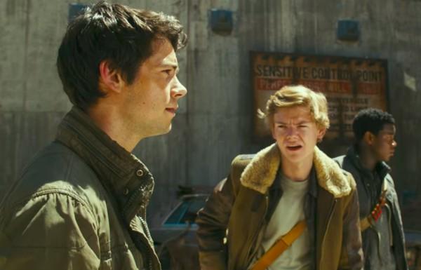 O ator Dylan O'Brien em cena de Maze Runner: A Cura Mortal (Foto: Reprodução)