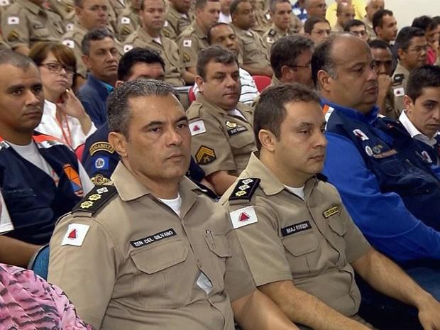 Autoridades se reúnem para prevenção de enchentes no Sul de Minas (Foto: Reprodução EPTV)