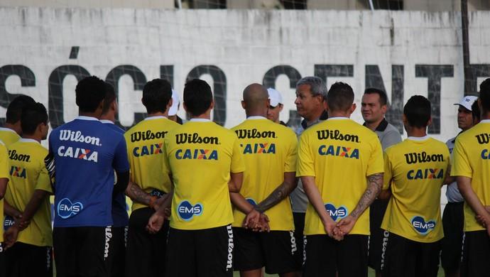 Hélio dos Anjos - técnico do ABC (Foto: Diego Simonetti/Blog do Major)