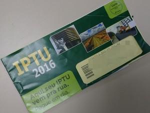 Prazo para pagamento do IPTU e TCR com desconto é até esta sexta-feira (11) em Campina Grande (Foto: Gustavo Xavier/G1)