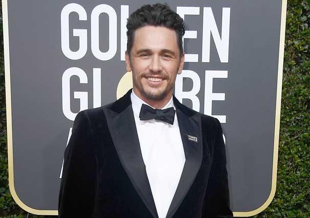 James Franco no Globo de Ouro (Foto: Getty Images)
