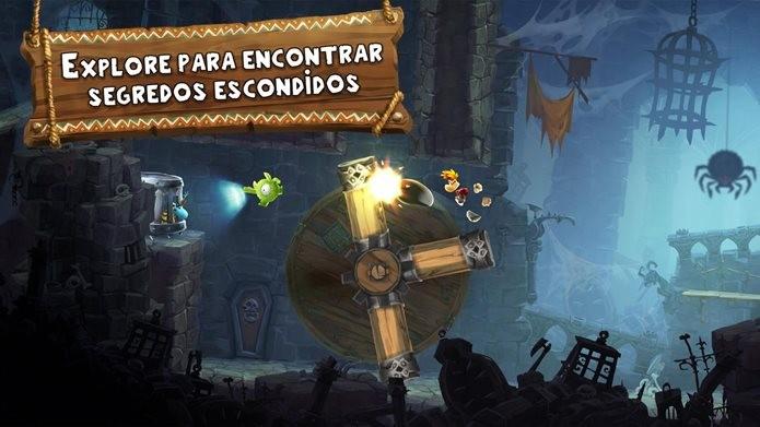Novo Rayman é o melhor jogo de plataforma para Android (Foto: Divulgação / Ubisoft)