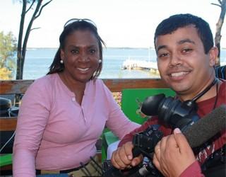 Globo Repórter Moçambique RPC TV (Foto: Divulgação/ RPC TV)