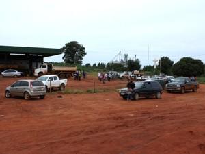 Famílias que voltaram às terras se concentram na área conhecida como Posto da Mata. (Foto: Agência da Notícia)