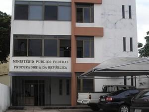 Ministério Público Federal, em Santarém. (Foto: Divulgação/MPF-PA)
