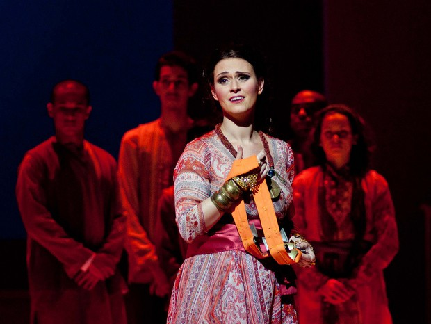 Soprano Gabriella Pace, que atuará ao lado do tenor Marcello Vannucci em Piracicaba (Foto: Sylvia Masini)