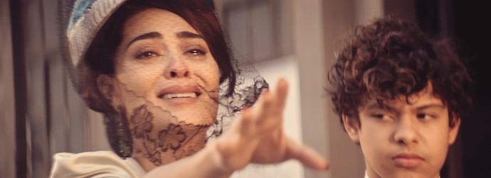 Zana é a mãe dos gêmeos Omar e Yaqub (Foto: TV Globo)