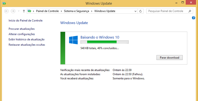 Resultado de imagem para upgrade Windows 8.1 for Windows 10