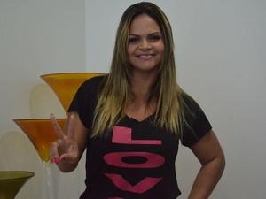 Paula Brasil comanda festa em Capela neste sábado (Foto: Emerson Emídio / G1)