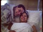Tiago Abravanel clica irmã antes de parto: 'Sou o tio mais feliz do mundo'