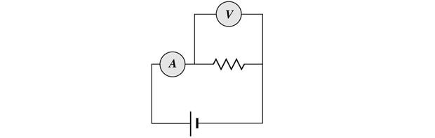 Representação - voltímetro e amperímetro (Foto: Reprodução)