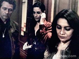 Rosa e Pedroso querem saber o motivo de Bruno estar na lista (Foto: O Rebu / TV Globo)