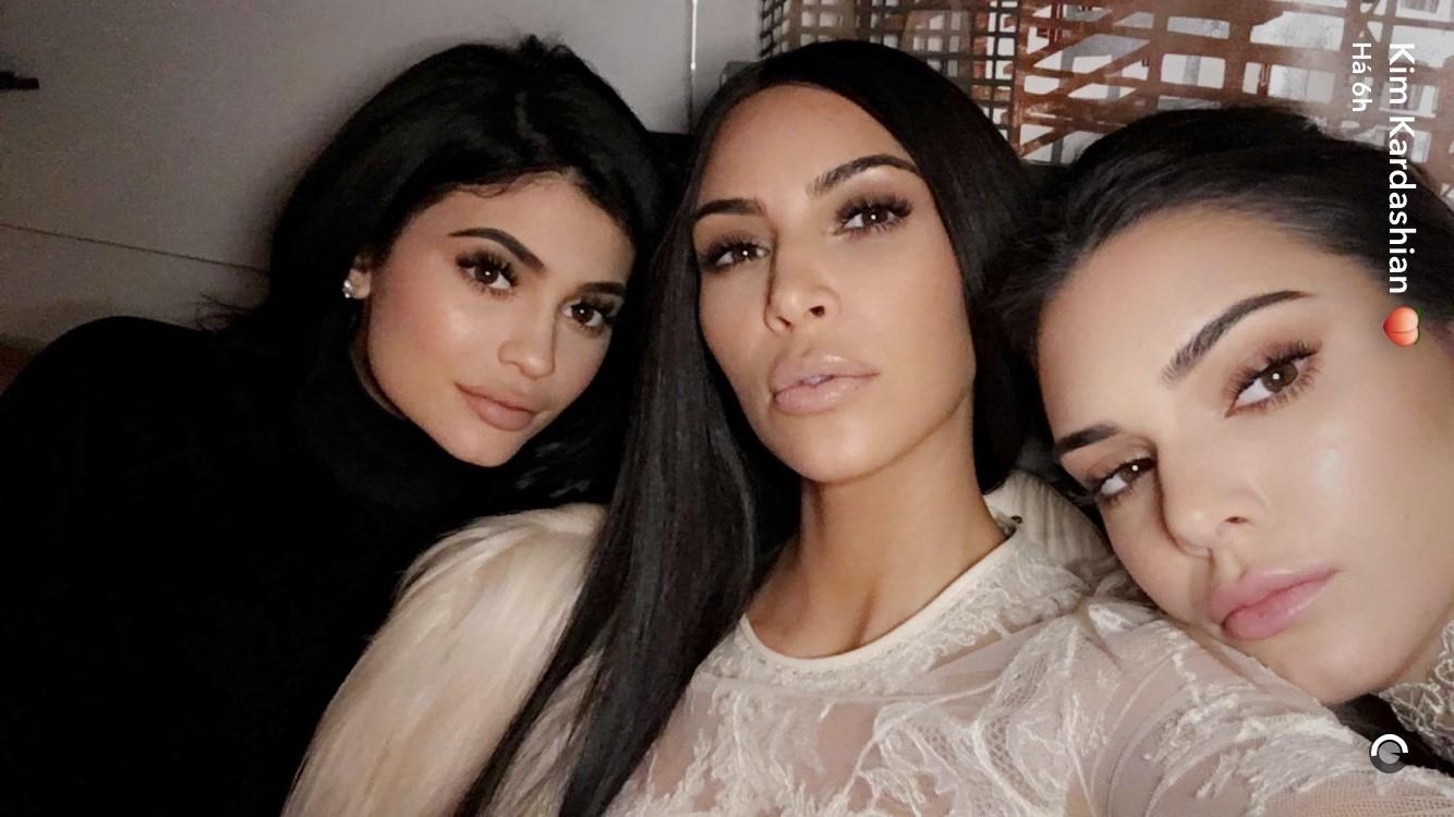 Kylie, Kim e Kendall (Foto: Reprodução)