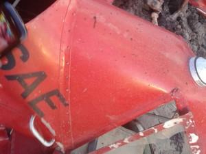 Avião monomotor cai e mata uma pessoa em Santa Luzia, MA (Foto: Divulgação / Jorge Muniz)