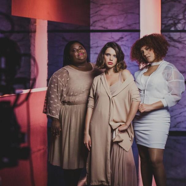 MC Carol, Bruna Linzmeyer e Candy Mel  (Foto: Divulgação/Avon)