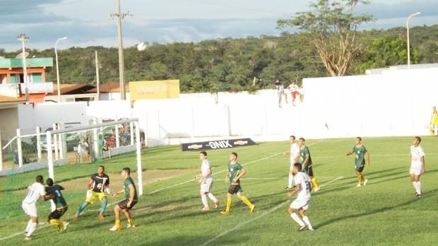 Bacabal (MA) vence do Cordino (MA), por 3 a 1, pelo Campeonato Maranhense (Foto: Leonilson Mota / Divulgação)