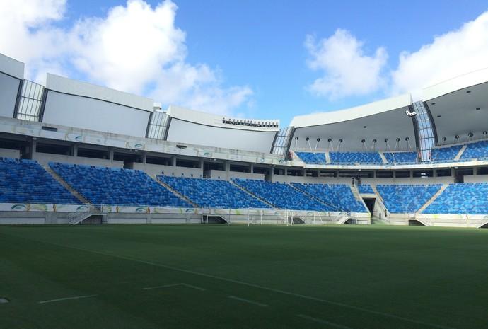 Arena das Dunas - Campeonato Potiguar 2017 (Foto: Luiz Henrique/GloboEsporte.com)