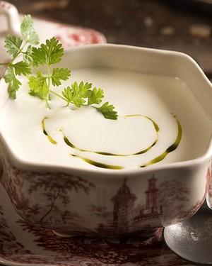 Sopa de queijo chèvre (Foto:  )