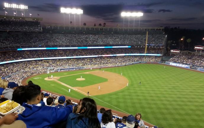Tour da Taça beisebol Los Angeles Dodgers (Foto: Rodrigo Faber)