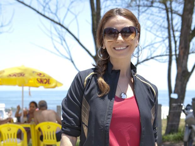 Giovanna arrasando na praia (Foto: Salve Jorge/TV Globo)
