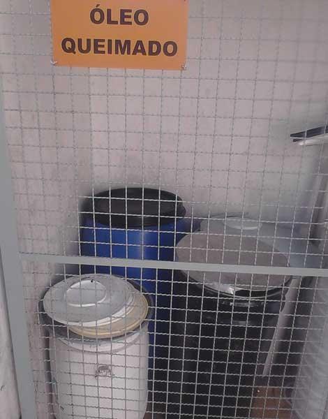 Óleo da fritura dos salgadinhos é reciclado e vira sabão (Foto: Divulgação)