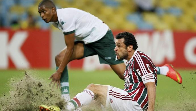 Fred gol Fluminense x Goiás (Foto: André Durão)