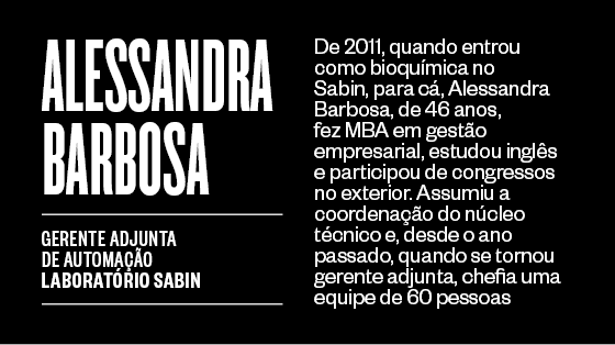 Alessandra Barbosa (Foto: Época )