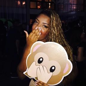 MC Ludmilla no aniversário de Anitta no Rio (Foto: Instagram/ Reprodução)