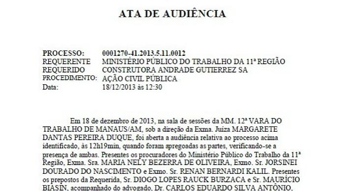 Andrade e MPT (Foto: Reprodução/MPT)