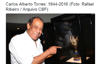 CBF decreta luto de três dias e abrirá sede para velório de Carlos Alberto