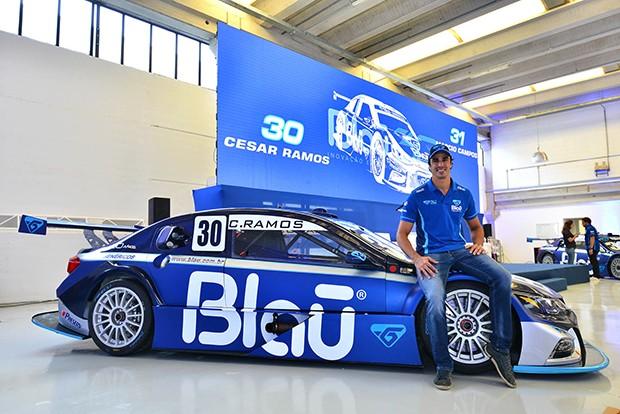 O piloto Cesar Ramos #30 da Blau Motorsport Stock Car (Foto: Divulgação/Fernanda Freixos)