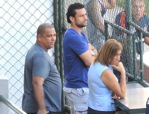 Fred nas Laranjeiras Fluminense (Foto: Cahê Mota)
