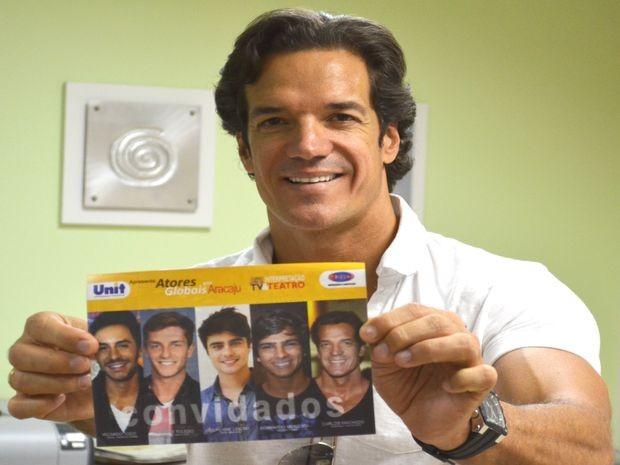 Carlos Machado divulga Curso Livre de Interpretação em TV & Teatro (Foto: Thiago Barbosa/GE)