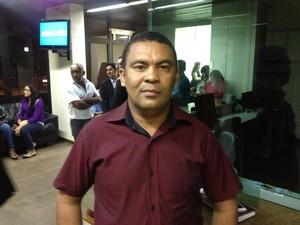 Genival Gemaque (PR), prefeito do município de Pedra Branca do Amapari  (Foto: John Pacheco/G1)