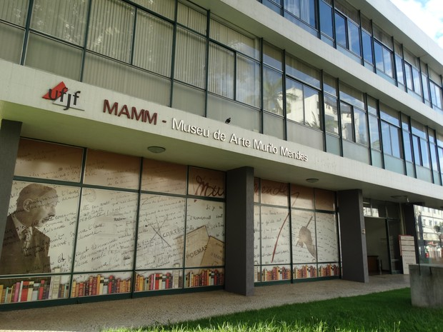 fachada mamm juiz de fora (Foto: Rafael Antunes/G1)