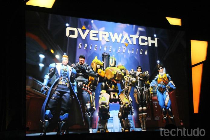 Novidades de Overwatch foram apresentadas na BlizzCon 2015 (Foto: Felipe Vinha/TechTudo)
