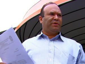 Presidente da Câmara notificou empresa responsável pelo concurso (Foto: Wilson Aiello/EPTV)