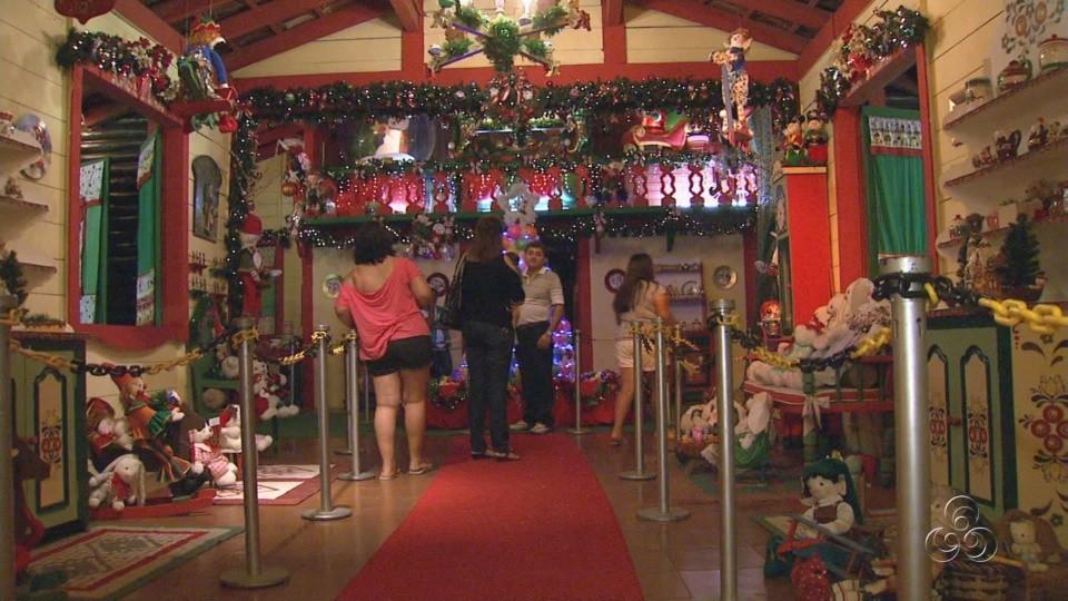 Mundo Encantado do Papai Noel (Foto: Amazônia TV)
