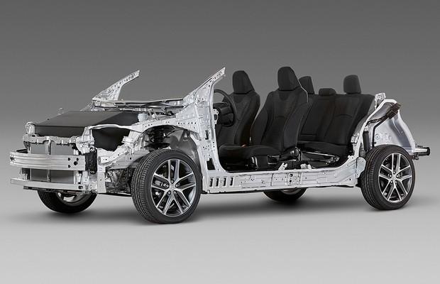 Nova geração de plataformas da Toyota será lançada ainda em 2015 (Foto: Divulgação)