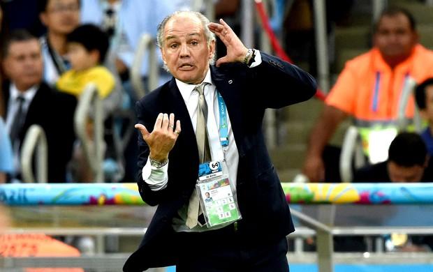 Alejandro Sabella final Alemanha x Argentina