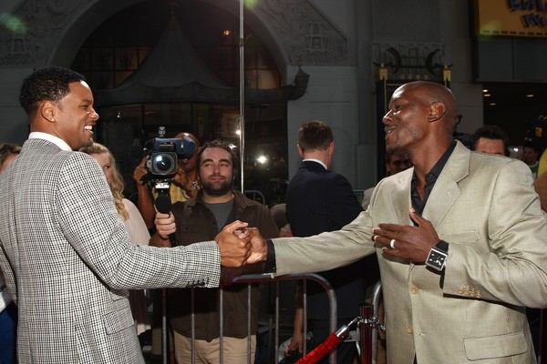 Os atores Tyrese Gibson e Will Smith (Foto: Getty Images)