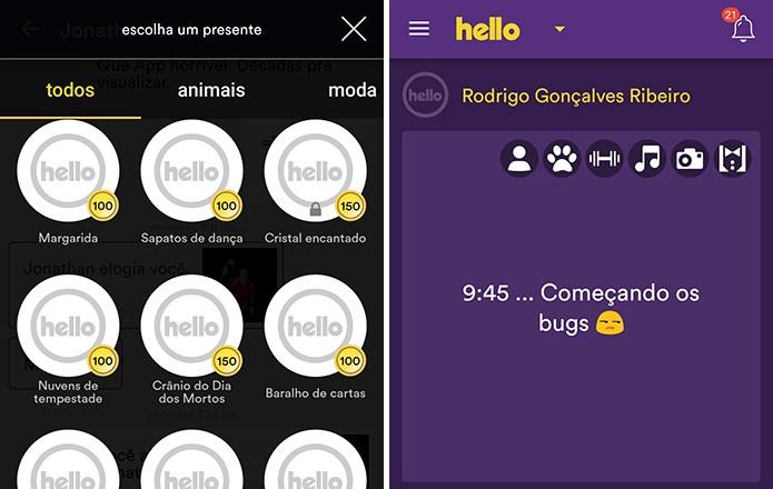 Hello demorou para carregar conteúdo e usuários reclamavam de bugs (Foto: Reprodução/Elson de Souza) (Foto: Hello demorou para carregar conteúdo e usuários reclamavam de bugs (Foto: Reprodução/Elson de Souza))