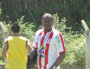 Técnico João Carlos Minas Futebol (Foto: Gabriel Duarte)