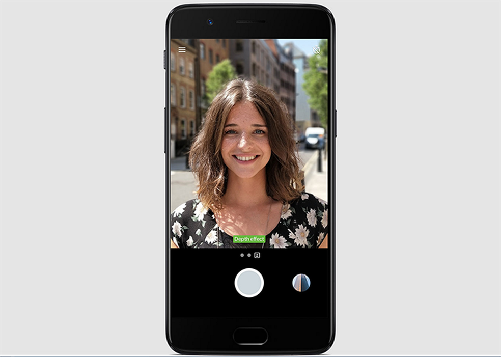 OnePlus 5 tem câmera dupla com modo retrato para borrar o fundo da imagem (Foto: Divulgação/OnePlus)