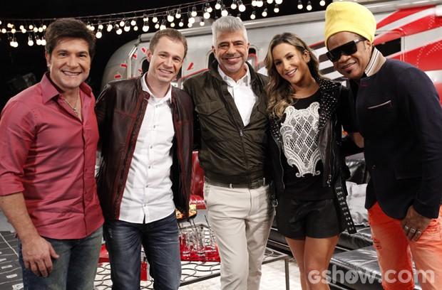 Elenco The Voice Brasil 3 (Foto: Raphael Dias/TV Globo)