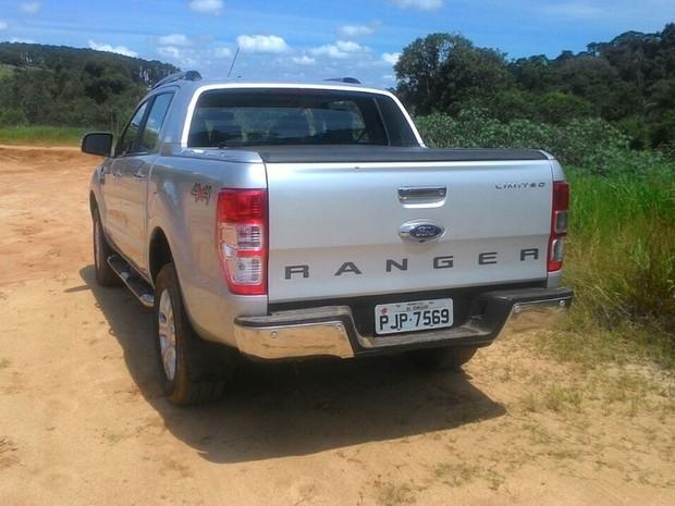 Ford Ranger reestilizada (Foto: Divulgação)
