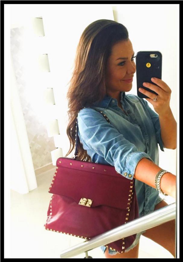 Fernanda Souza comprou sua Valentino de segunda mão (Foto: Reprodução/Instagram)